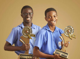 Gakpetor, Gyamfi and Benjamin Quansah led PRESEC-Legon to win their sixth NSMQ title