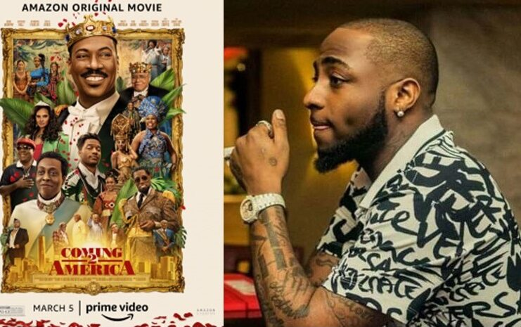 Davido Featured In Coming To America Part 2