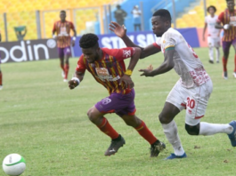 Afriyie Barnieh's winner moves Hearts of Oak closer to league title